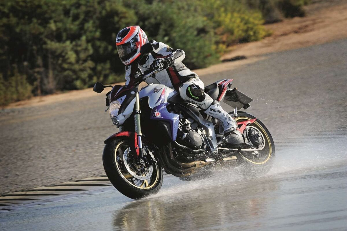 Riding in the wet