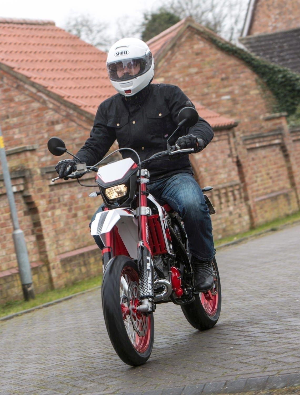 First Ride Rieju Mrt Trophy Supermotard On2wheels